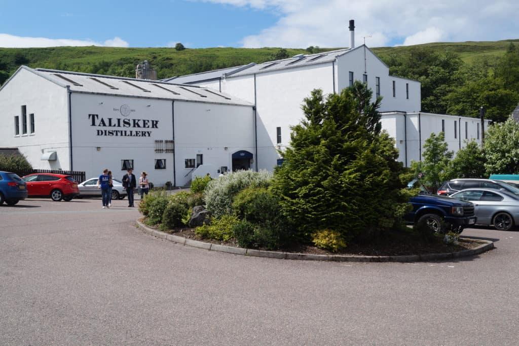 The Talisker Whisky Distillery