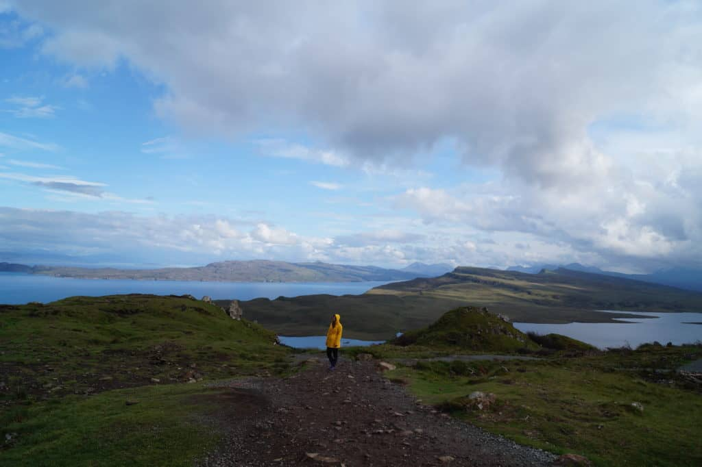 Hiking the Storr, Isle of Skye, Scotland
