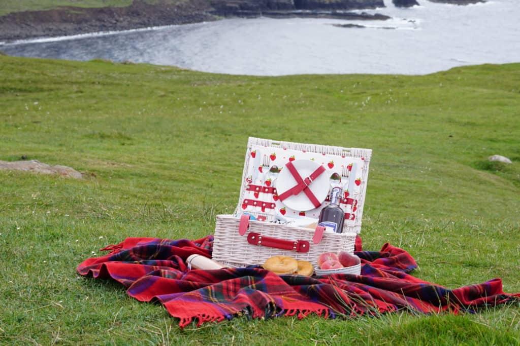 Picnic on the Isle of Skye