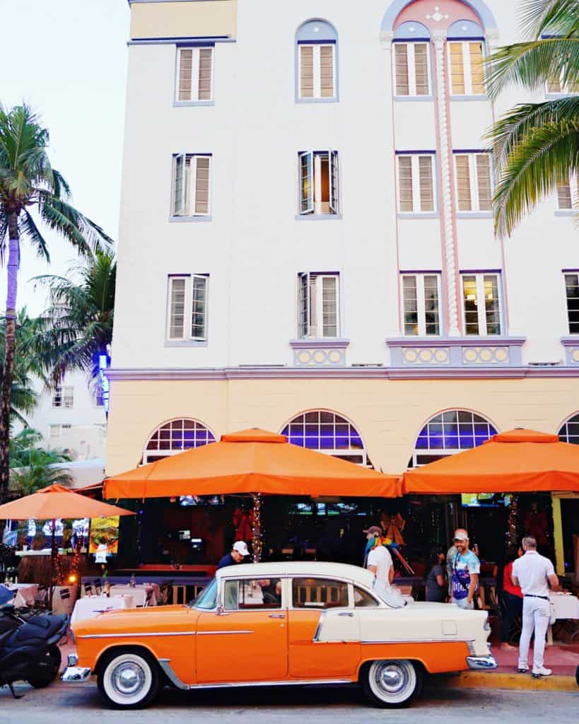 Artdeco Buildings in the South Beach