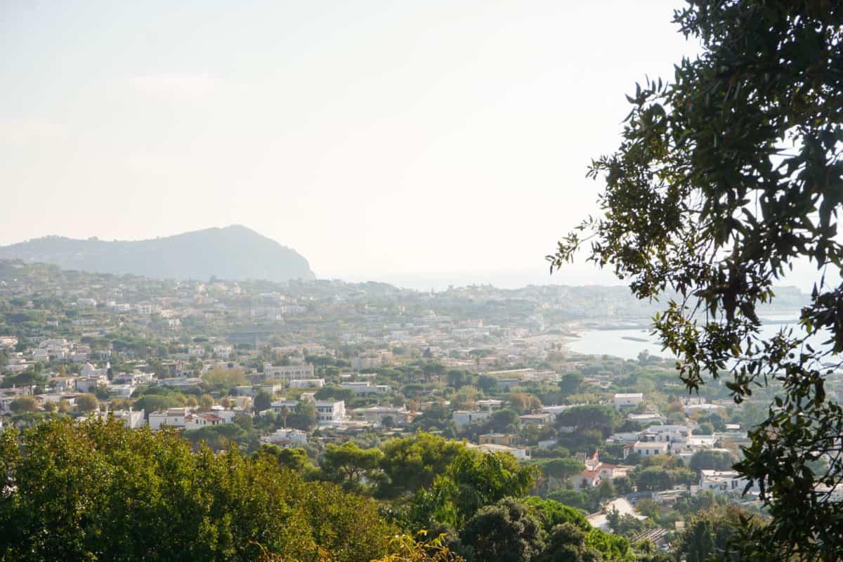 Panorama of Ischia, Italy