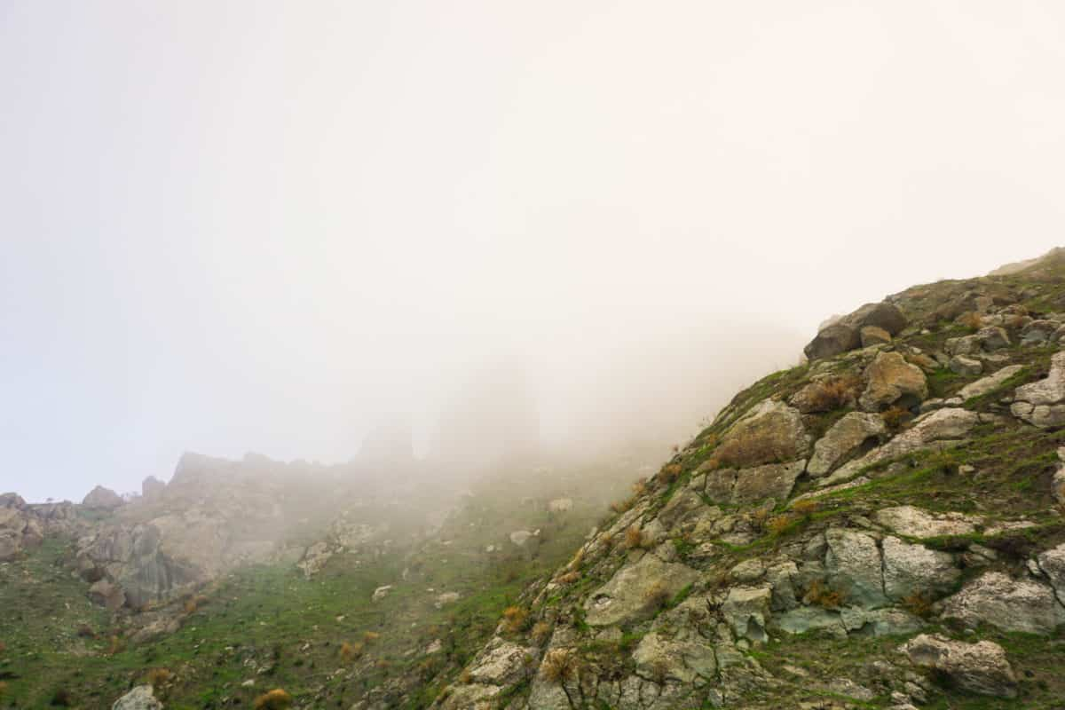 Climbing Epomeo in Ischia