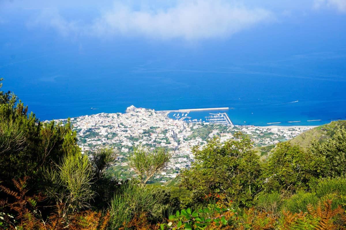 Panorama of Ischia from Epomeo